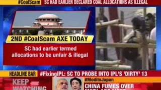Coal scam: SC to decide on cancellation of blocks Monday - NEWSXLIVE