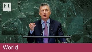 Argentine president condemns Venezuela at the UN - FINANCIALTIMESVIDEOS