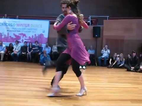 Luciano Brigante & Alejandra Orozco at Winter Dance