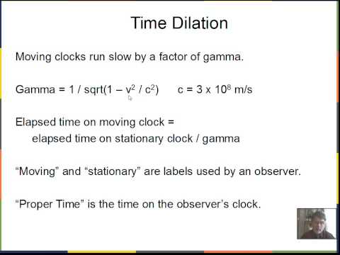 Special Relativity, Simulltaneous Events, Time Dilation, Length Contraction