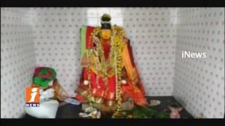 Robbery in Poleramma Temple at Gowada Village | Prakasam | iNews - INEWS