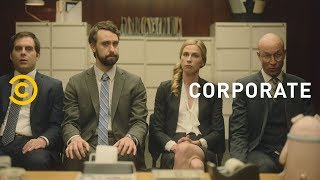 A Business Meeting Turns Really Dark Really Fast (feat. Kyra Sedgwick) - Corporate - COMEDYCENTRAL