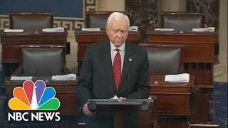 Orrin Hatch Warns Senate 'Is In Crisis' In Farewell Speech | NBC News - NBCNEWS