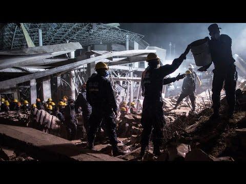 Al menos tres muertos, entre ellos dos bebes, y mas de 70 heridos en tragedia en México