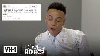 Bobby Lytes Responds to the Shade 📱Fandemonium | Love & Hip Hop: Miami - VH1