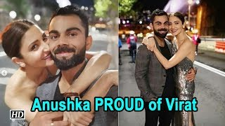Anushka PROUD of Virat & Team India | Ind Vs Aus cricket series - BOLLYWOODCOUNTRY