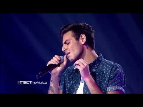 MBC The Voice -  عمر دين - All Of Me  - مرحلة الصوت وبس