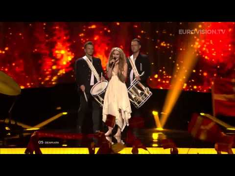 Emmelie de Forest - Only Teardrops (Denmark) - LIVE - 2013 Semi-Final (1)