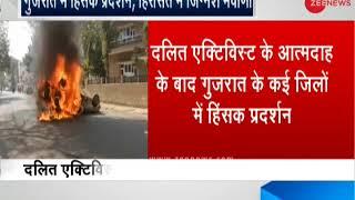 Dalit activist's death triggers protests in Gujarat, MLA Jignesh Mevani detained - ZEENEWS