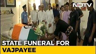 People pay final tribute to Atal Bihari Vajpayee - NDTV