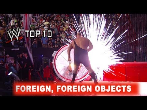 WWE Top 10: Foreign, Foreign Objects