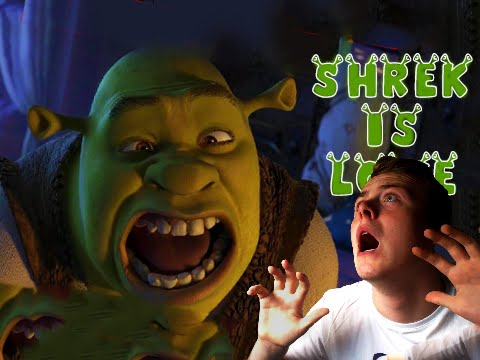 SHREK KILLED DONKEY!! - (Shrek The Horror Game) - SLENDER RIPOFF!