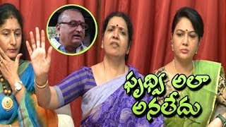 Prudhvi Didn't Say That: Jeevitha Rajasekhar | Maa Association | #maaassociation - IGTELUGU