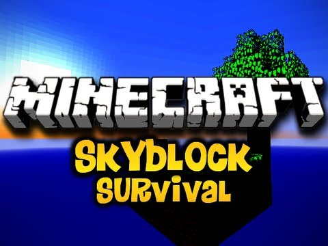 Minecraft Skyblock Survival Ep. 6 w/ Luclin &amp; Wolv21 (HD)