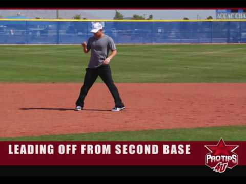 Base Running Tips: How To Lead-Off from Second Base with Chris Getz