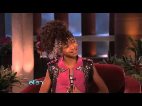 Willow Smith s Interview with Ellen