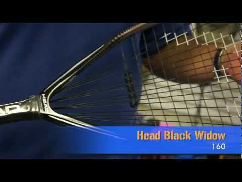Head Black Widow 160 Racquetball Racquet Review