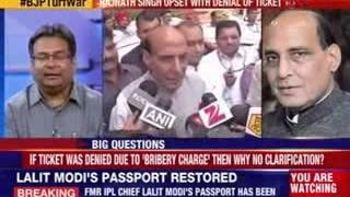 Rajnath claims if charges proven will quit politics - NEWSXLIVE