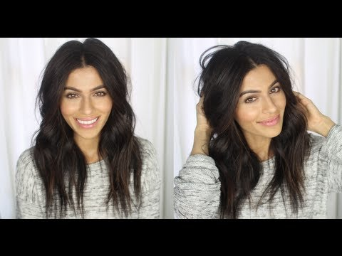 Messy Wavy Hair Tutorial