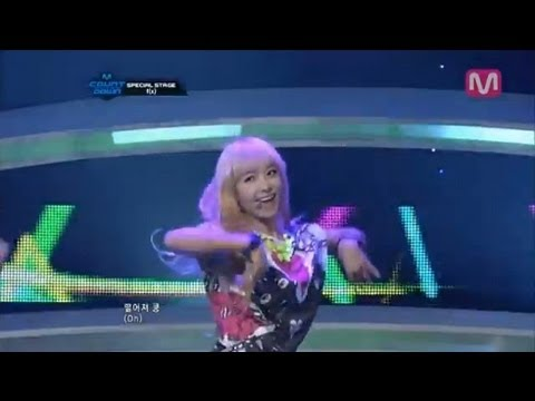 f(x)_Electric Shock(Electric Shock by f(x) @Mcountdown 2012.07.12)