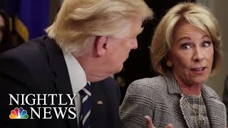 DeVos Proposes Changes To The Way Colleges Handle Complaints Of Sexual Misconduct | NBC Nightly News - NBCNEWS