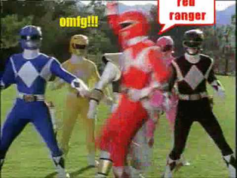Mighty Morphin Power Ranger Theme Song  ::: For Rhysy
