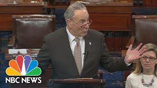 Chuck Schumer: We Tried To 'Untie The Knots In Logic' At President Donald Trump Meeting | NBC News - NBCNEWS