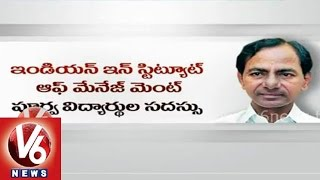 CM KCR in Singapore tour to address in IIM alumni conference - V6NEWSTELUGU