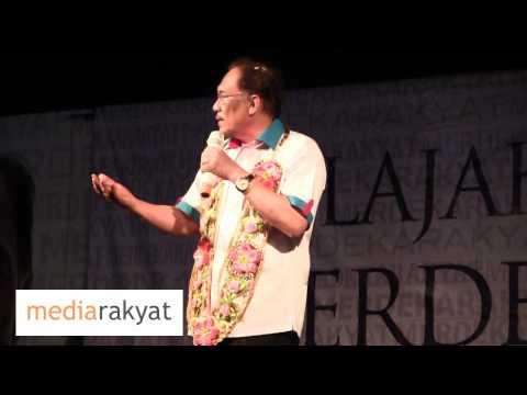 Anwar Ibrahim: Apa Kita Percaya UMNO Sekarang Boleh Bertahan Orang Melayu?