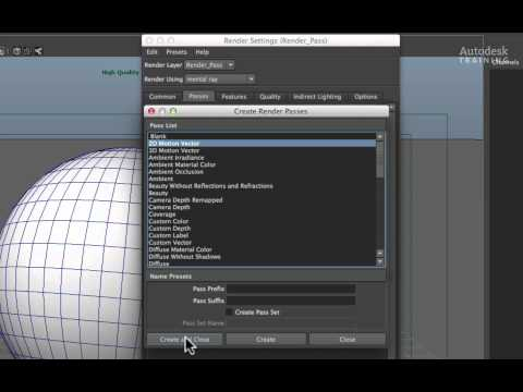 Creating a Maya Motion Vector Pass for Autodesk Smoke