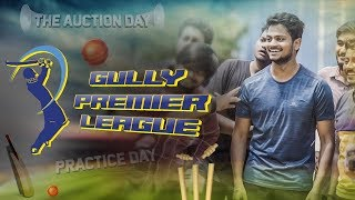 The Auction Day Episode -1 | Gully Premier League | Shanmukh Jaswanth | Vamsi Srinivas - YOUTUBE