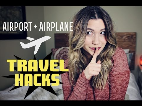 Airport & Airplane TRAVEL HACKS