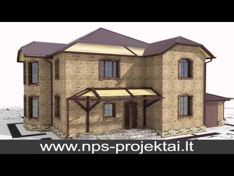 Namo projektas,statyba, pridavimas,interjero dizainas. NPS Projektai