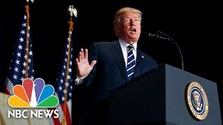 Watch Live: Trump delivers remarks on opioid crisis in New Hampshire - NBCNEWS