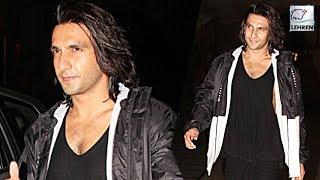 Ranveer Singh Says BYE-BYE To Padmavati Look! | LehrenTV