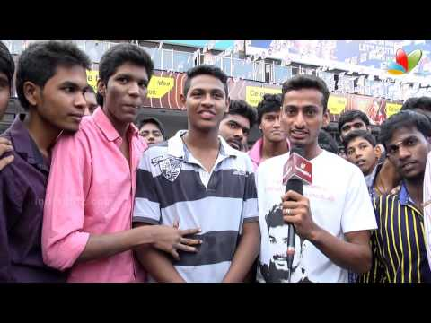 Anirudh Enjoys 'Kaththi' With Fans in Theatre: IndiaGlitz Exclusive | Public Review |