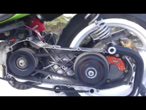 Malaguti Phantom F12 R/T 70cc First Start by Scooter Racing Workshop