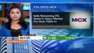 Market Pulse: FTIL Exits, Road Clear For MCX? - BLOOMBERGUTV