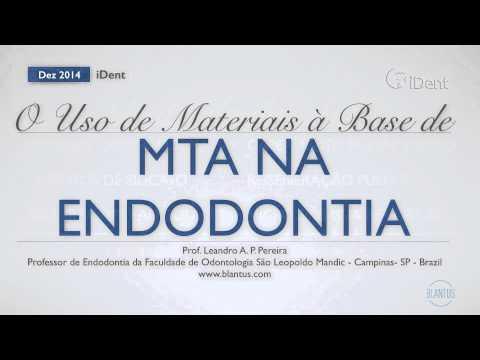 Vídeo-aula: O Uso de Materiais à base de MTA em Endodontia