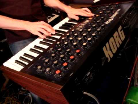 KORG MONOPOLY Analog Synth DEMO | Mono Poly