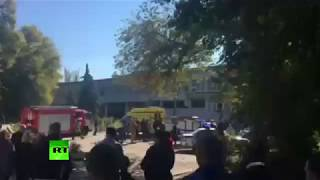 First video from Crimea blast site - RUSSIATODAY