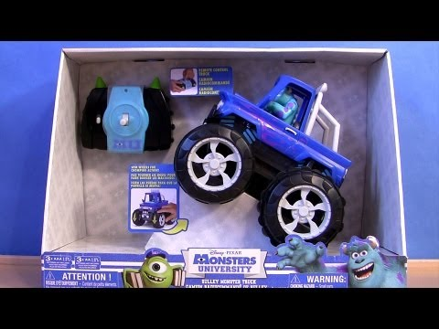 Sulley Monster Truck Bigfoot Monsters University Disney Pixar Monsters Inc 2 Cars Toons Tormentor