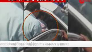 Morning Breaking: Woman abusing public on road in Paniapt; Video goes viral - ZEENEWS