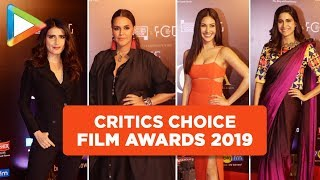 Amyra Dastur, Neha Dhupia and Other Celebs Grace the Critics Choice Film Awards 2019 - HUNGAMA