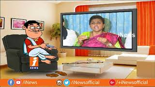 Dada Hilarious Talk With YCP Roja On Her Comments on TDP Govt | Pin Counter | iNews - INEWS