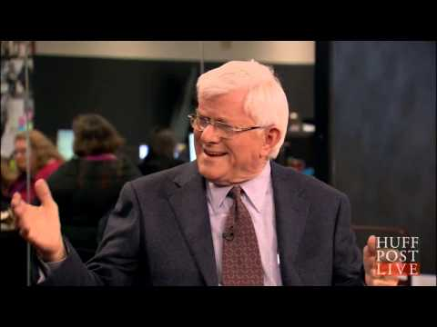 Phil Donahue Slams Bush WHCD Stunt | HPL