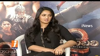 Anushka About Her Diet Care For Baahubali Part 1 and 2 | Prabhas | Rana | S S Rajamouli | iNews - INEWS