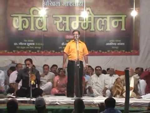 Hasya Kavi Deepak Gupta,  Hasya Kavi Sammelan, New Delhi , India