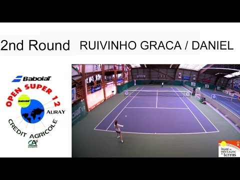 Victory of Ruivinho Graca (POR) over Daniel (FRA) (4/6 6/2 6/0) - Open Super 12 Auray - Boys Single