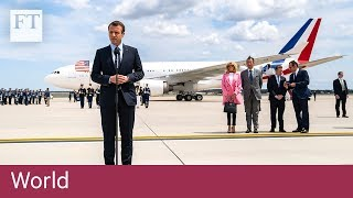 Macron strolls around Washington DC - FINANCIALTIMESVIDEOS